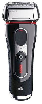 Braun Series 5 Men's Rechargeable Electric Shaver with Cleaning Station - 5-5090CC