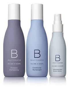 Exciting new hair care launch from Beautycounter! Salon-grade hair care products made with safer ingredients. Formulated without sulfates, silicones or mineral oil, and safe for color-treated hair! - Volume and Shape collection is formulated with hibiscus Cosmetic Packaging, Beauty Packaging, Bottle Packaging, Hibiscus Plant, Plant Protein, Bottle Design, Clean Beauty, Fine Hair, Body Lotion