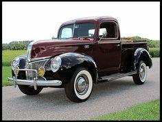 1941 Ford Pick-up Best Pickup Truck, Vintage Pickup Trucks, Classic Pickup Trucks, Antique Trucks, 4x4 Trucks, Cool Trucks, Chevy Trucks, Pickup Camper, Jeep Pickup
