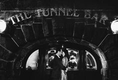 Tunnel Bar// Meghan and Ryan's Bar Hopping Engagement