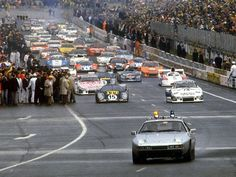 1980 24h of Le Mans. With a 928 Pace car!