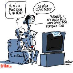 Le gouvernement Grec ferme brutalement la télévision publique - Dessin du jour - Urtikan.net