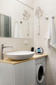 Фото из статьи: Куда поставить стиральную машину: 4 лучших варианта