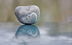 Heart in a stone