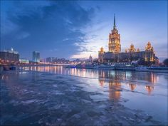 In this blog all eyes are on Moscow - the city any foreigner can live in without sacrificing his ordinary lifestyle and leisure preferences #earth #hour #nature #electricity #campaign #lights #urban #building #evening #moscow #russia