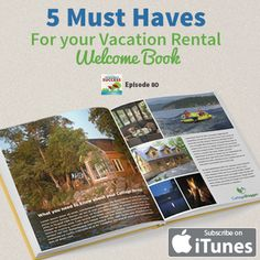 VRS080 - The 5 Most Important Elements of Your Vacation Rental Welcome Book