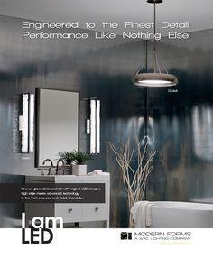 Bathroom Lighting San Diego alibi environment shot | bathroom lighting- san diego lighting
