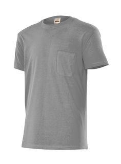 Camiseta Manga Corta con Bolsillo en el Pecho Serie 505 Velilla Aracotextil  Manga Corta a3fa3c797c06