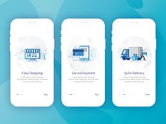 On-boarding Screens for eCommerce App
