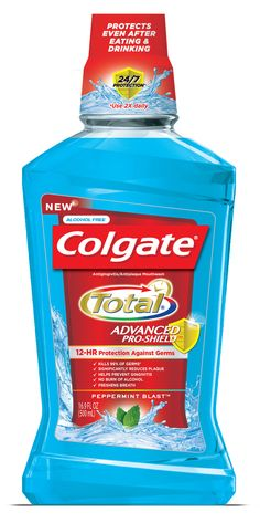 Hurry and grab a FREE Colgate Total Advanced Pro Shield Mouthwash + Coupon! Please note this offer is for Smartphone Users!  Visit us at http://www.thecouponingcouple.com for more great posts!