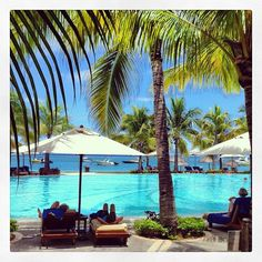 Pool of Paradis Hotel & Golf Club - Mauritius