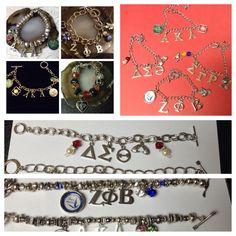 Charming Sorority Inspired Bracelets