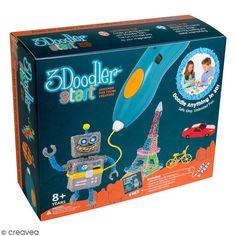Compra nuestros productos a precios mini Kit de inicio - Bolígrafo 3D 3Doodler - Entrega rápida, gratuita a partir de 89 € !