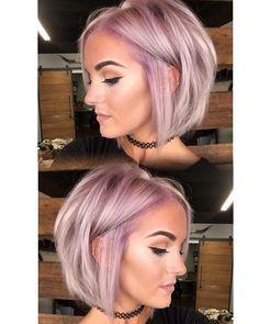 Love this icy lavender look by @kristi_mac_of_hair and @mckenziehawkins_ ! Formula: 30g 9VM + 3g Violet Booster on the roots. 30g 10VM + 1g Violet Booster on mids and ends. #KenraColor #VioletHair