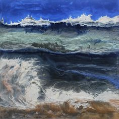 "Saatchi Art Artist Lia Melia; Painting, ""Crescent Bay"" #art"