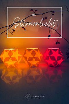 STERNENLICHT // WALDORF - LATERNE DIY - Lieblingsbande Lantern Festival, Lanterns, Christmas, Beautiful, Decor, Paper, Bricolage, Origami Lantern, Advent Season