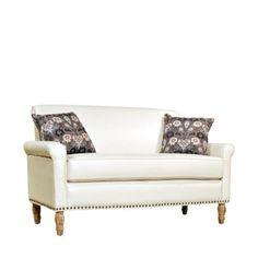 Harlow Marzipan Cream Renu Sofa, Antique Finish - also for the area in which one sits.