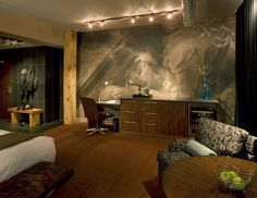 Creative wall paint of Iron Horse Hotel