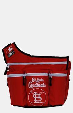 Diaper Dude 'St. Louis Cardinals' Messenger Diaper Bag available at #Nordstrom