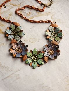 Steam Punk Flower.