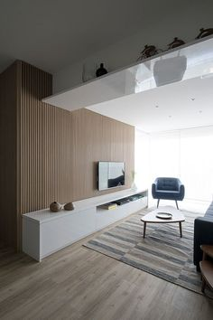 Luxury living room design Ideas with Neutral Color Palette Living Room Tv Unit, Home Living Room, Living Room Designs, Living Room Decor, Apartment Interior, Living Room Interior, Home Interior Design, Interior Design Inspiration, Luxury Living