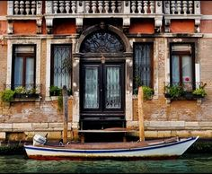 Front Porch, Venice, Italy