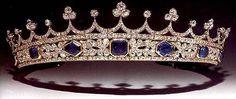 The Royal Order of Sartorial Splendor: Readers' Top 15 Tiaras: #15. Queen Victoria's Sapphire Coronet