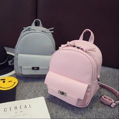 Designer Women Backpack For Teens Girls Preppy Style Solid fashion Girls Sch. - Bag for teens -New Designer Women Backpack For Teens Girls Preppy Style Solid fashion Girls Sch. - Bag for teens - Bags For Teens, School Bags For Girls, Girls Bags, Cute Mini Backpacks, Stylish Backpacks, Backpack For Teens, Backpack Bags, Fashion Bags, Fashion Backpack