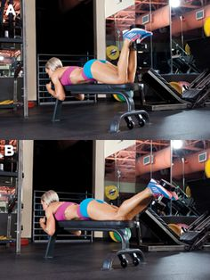 5 Moves to Sculpt Strong, Lean Legs Muscle and Fitness Hers