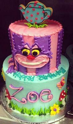 Alice in Wonderland (Cakes)