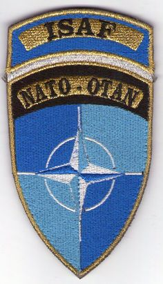 Nato Otan Patch | isaf nato otan patches regular nato otan patches worn by coalition ...