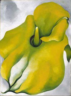 Georgia O'Keeffe. Yellow Calla, 1926