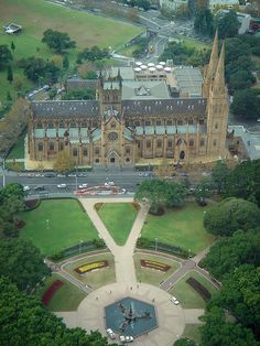 St. Mary's Cathedral - Sydney, Australia  #City_Edge_Apartment_Hotels   #Cityedge    http://www.cityedge.com.au