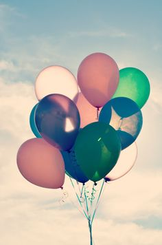 send away balloons with a message and see who writes back