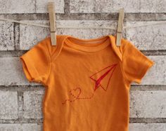 Paper airplane shirt – Etsy