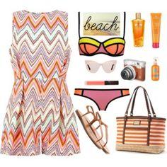 Beach summer style