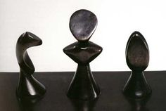 Max Ernst,boxwood chess set