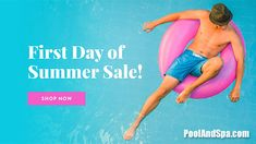 """First Day Of Summer Sale On Pool Auto Vacs - Check Out Our """"First Day Of Summer"""" Special Sale On Automatic Pool Vacuums - All Week Long At PoolAndSpa.com"""