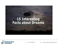 Immersive Infotech is an SEO company Indore and a leading Digital Marketing company in India. You can contact us for Indore IT company related queries. Interesting Facts About Dreams, Seo Company, Snoring, First Night, Blind, Dreaming Of You, Fun Facts, Digital Marketing, Forget