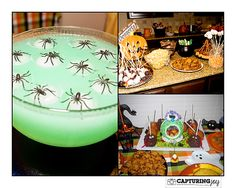 How to Throw a Couples Halloween Party - food, games, decorations & more! KristenDuke.com