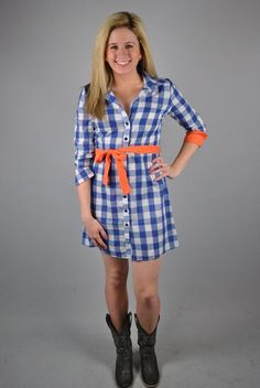 Gator or Auburn gameday dress --- @Anna Totten-Carroll Boroughs!!