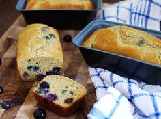 Mini Paleo Blueberry Bread  #SouthBeachPrimal