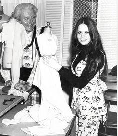 Marie Osmond Making a dress