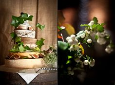 Wedding Cake alternative - different size cheese rounds stacked.  Clever!
