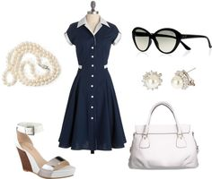 """""""My Mad Men inspired Friday office outfit"""" by sonia-roxy-m on Polyvore"""