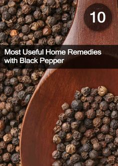 Know the 10 Most Useful Home #Remedies with Black #Pepper