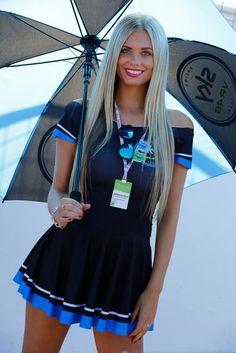 Paddock Girls, Octo British Grand Prix Grid Girls, Umbrella Girl Motogp, Race Car Girls, Monster Energy Girls, Promo Girls, 1 Tattoo, Dream Cars, Blonde Beauty, Ayrton Senna
