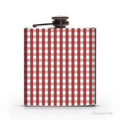 Picnic Table  6oz Whiskey Hip Flask by DrinkingBuddy on Etsy, $20.00