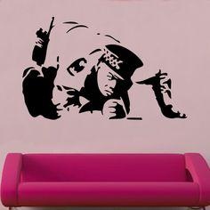 Banksy Vinyl Wall Art » _Shop » Home