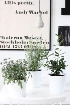 Groen in huis | interieur design by nicole & fleur